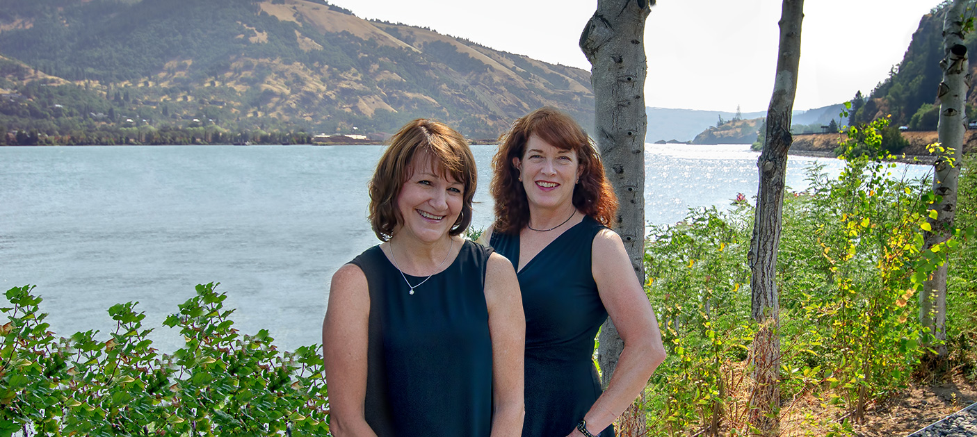 Susan and Kathleen